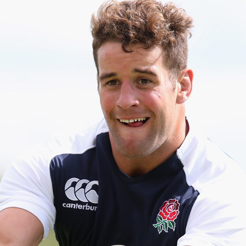 England Rugby answer: CLARK