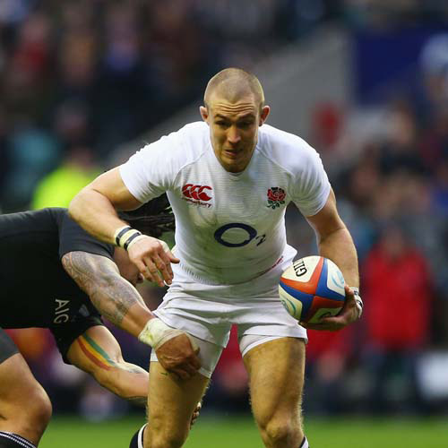 England Rugby answer: BROWN