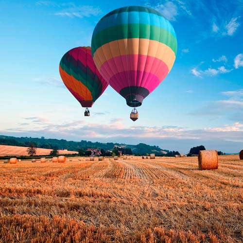 Experiences answer: HOT AIR BALLOON