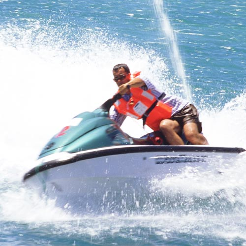 Experiences answer: JET SKIING