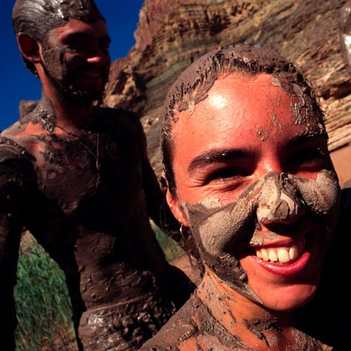 Experiences answer: HAVE A MUD BATH