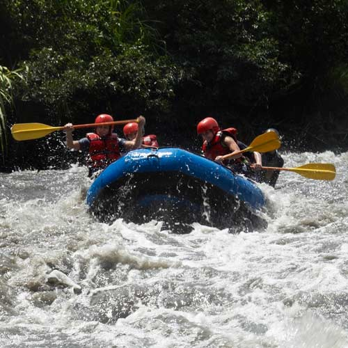 Experiences answer: GO RAFTING