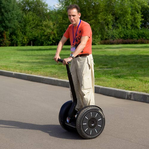 Experiences answer: RIDE A SEGWAY