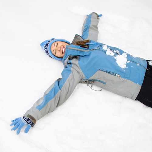 Experiences answer: MAKE A SNOW ANGEL