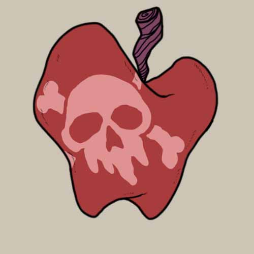 Fairy Tales answer: POISONED APPLE