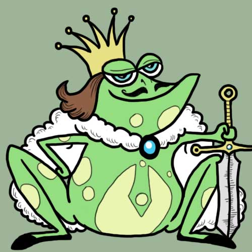 Fairy Tales answer: FROG PRINCE