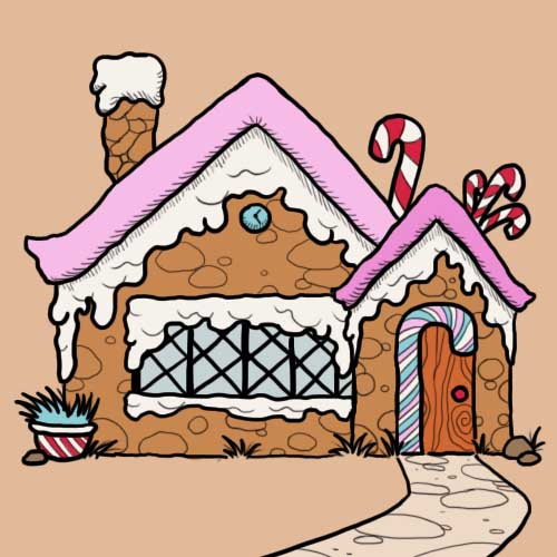 Fairy Tales answer: CANDY HOUSE