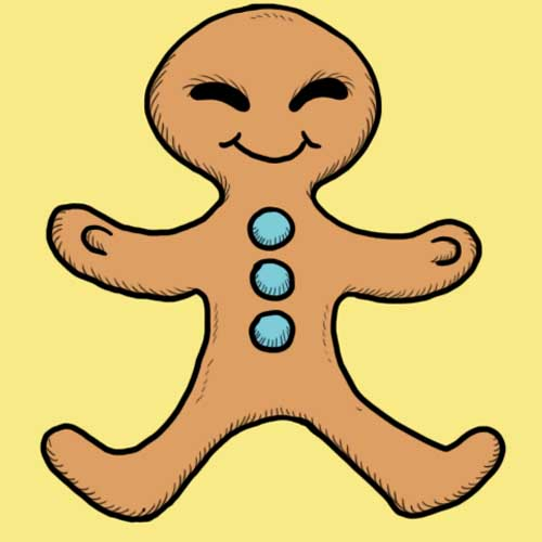 Fairy Tales answer: GINGERBREAD MAN