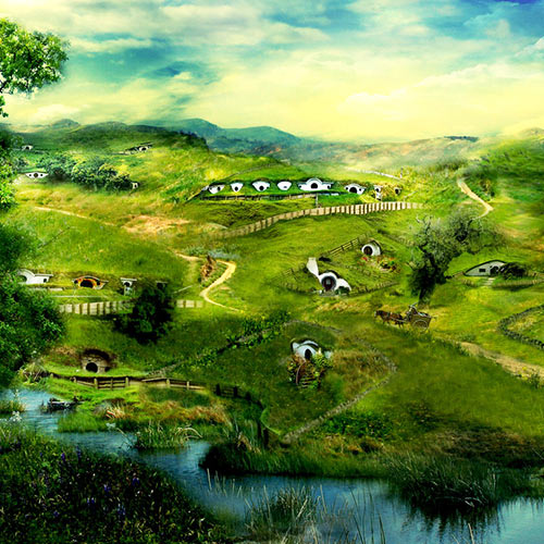 Fantasy Lands answer: THE SHIRE