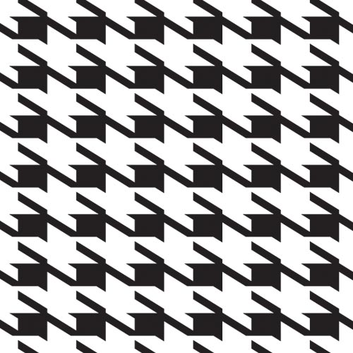 Fashion answer: HOUNDSTOOTH