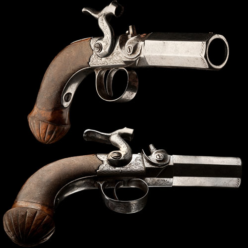 F is for... answer: FLINTLOCK