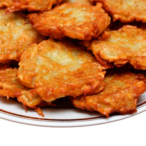 F is for... answer: FRITTERS