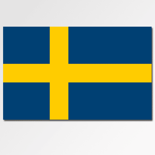 Flags answer: SWEDEN