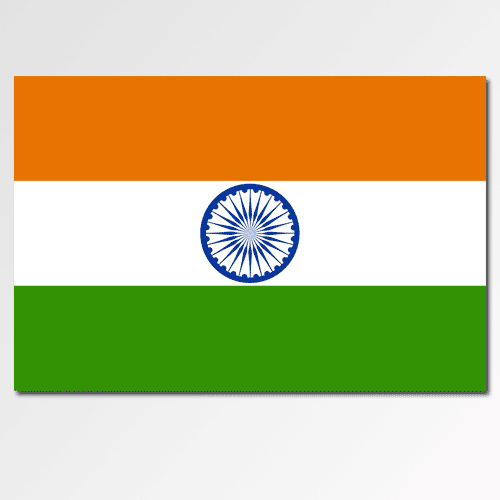 Flags answer: INDIA