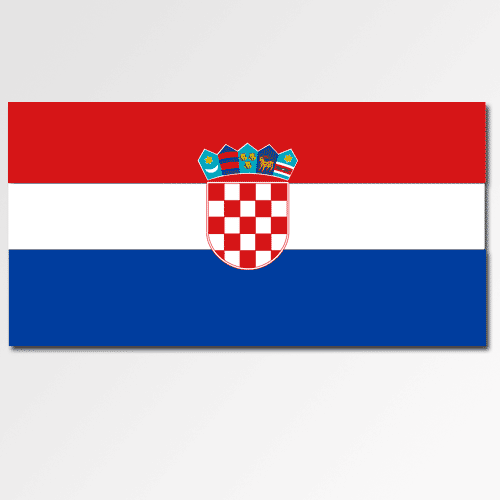 Flags answer: CROATIA