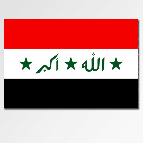 Flags answer: IRAQ