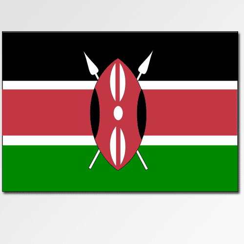 Flags answer: KENYA