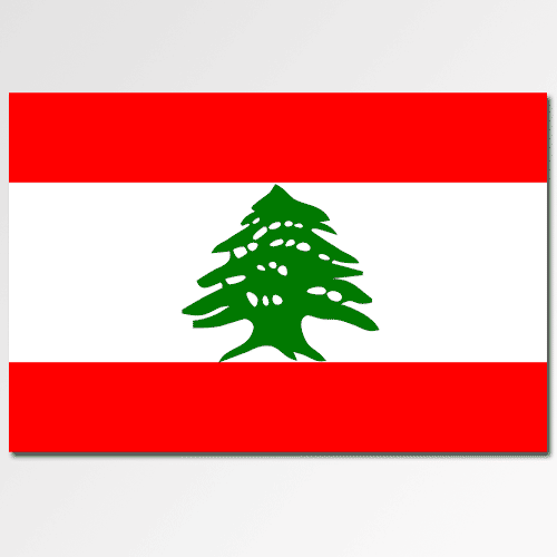 Flags answer: LEBANON