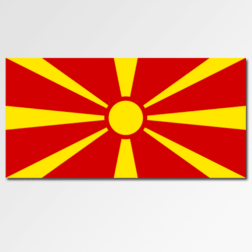 Flags answer: MACEDONIA