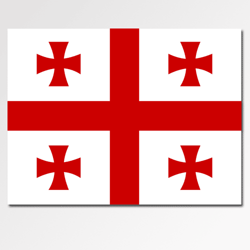 Flags answer: GEORGIA