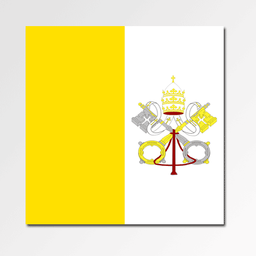 Flags answer: VATICAN CITY