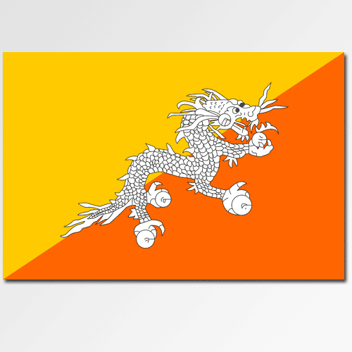 Flags answer: BHUTAN