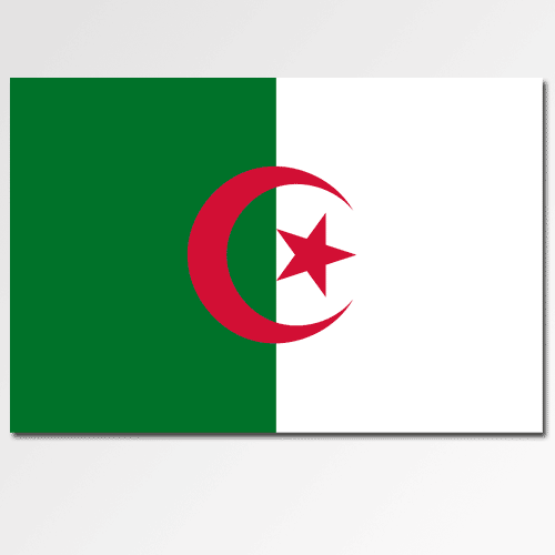 Flags answer: ALGERIA