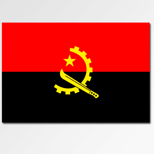 Flags answer: ANGOLA