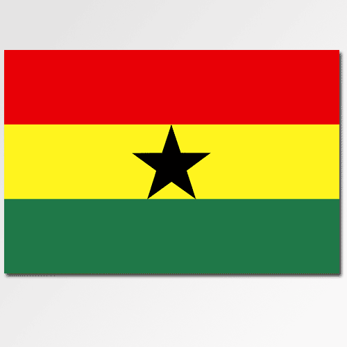 Flags answer: GHANA