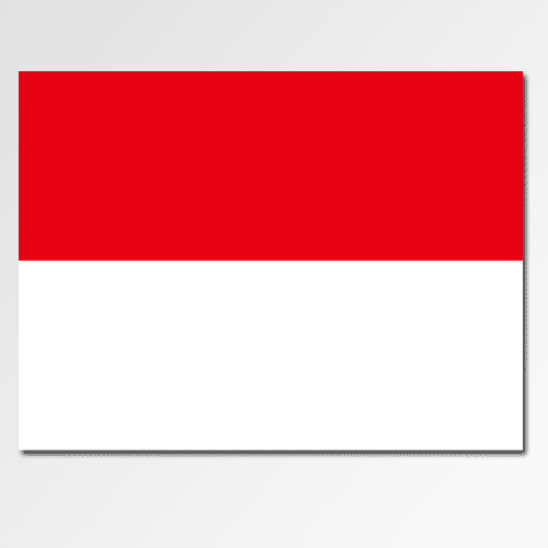 Flags answer: INDONESIA