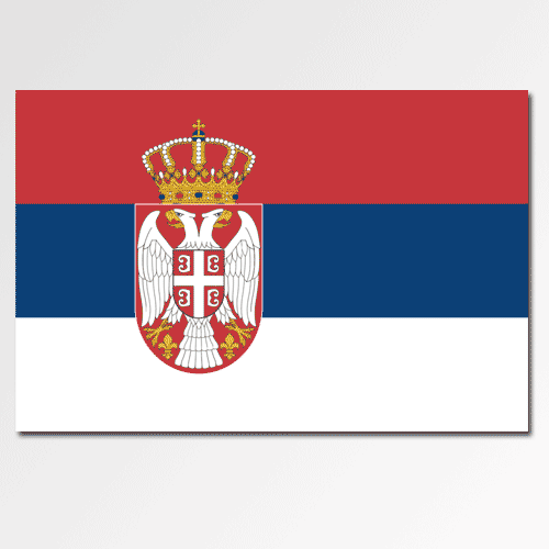 Flags answer: SERBIA