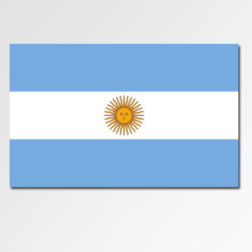 Flags answer: ARGENTINA