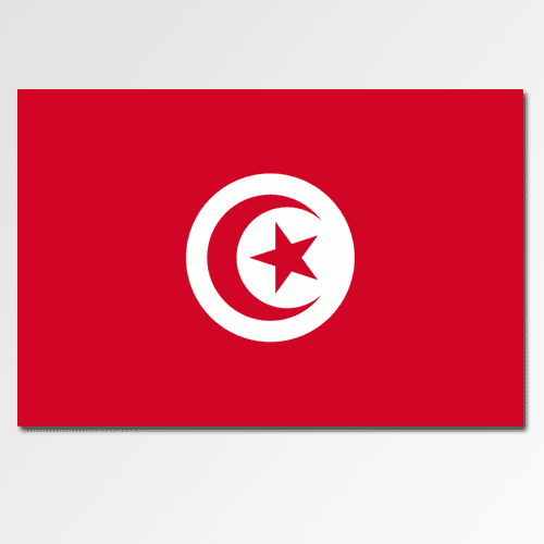 Flags answer: TUNISIA