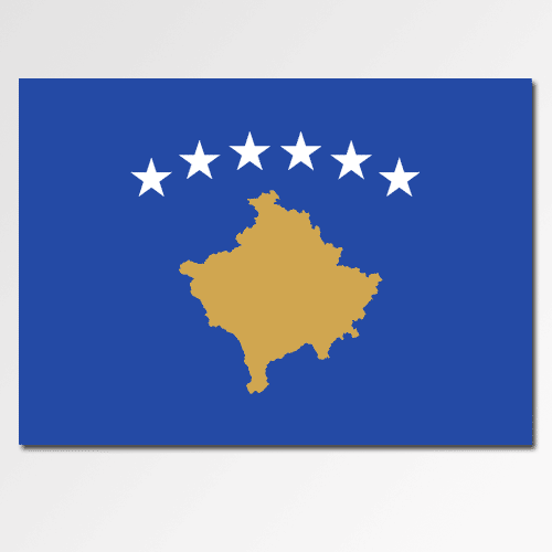 Flags answer: KOSOVO
