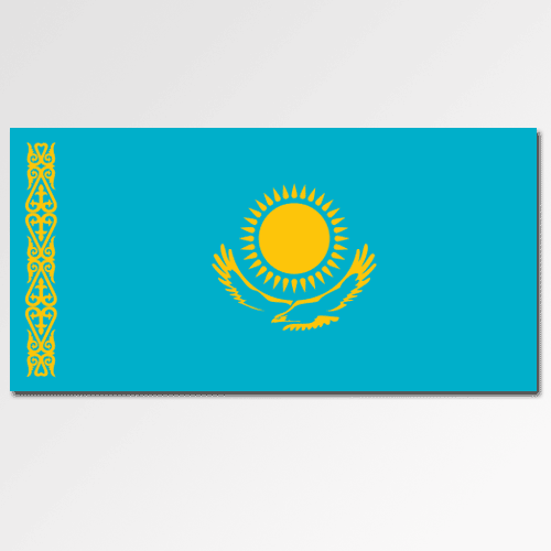 Flags answer: KAZAKHSTAN
