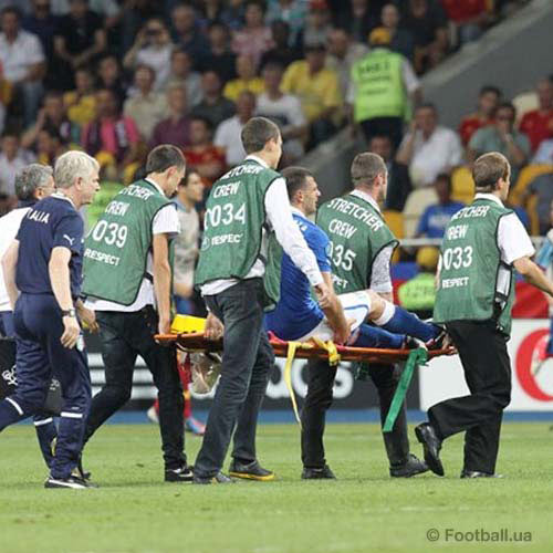 Football Focus answer: STRETCHER