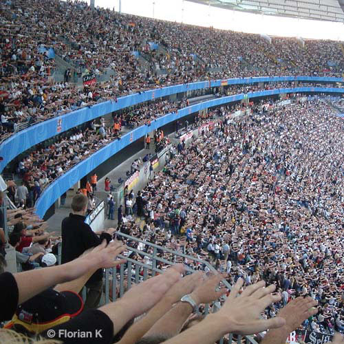 Football Focus answer: MEXICAN WAVE