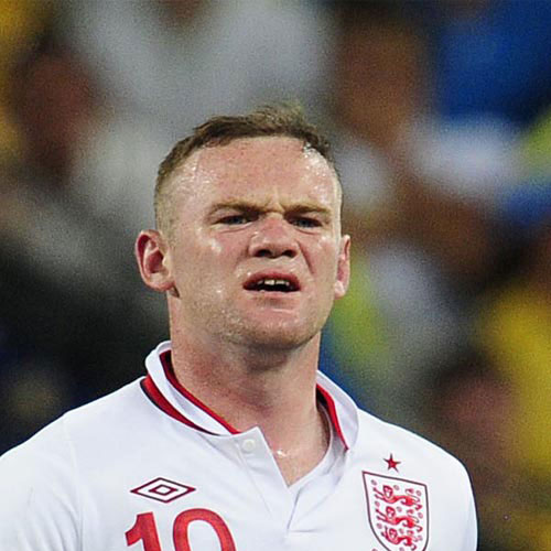 Football Test answer: WAYNE ROONEY