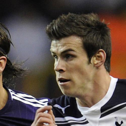 Football Test answer: GARETH BALE