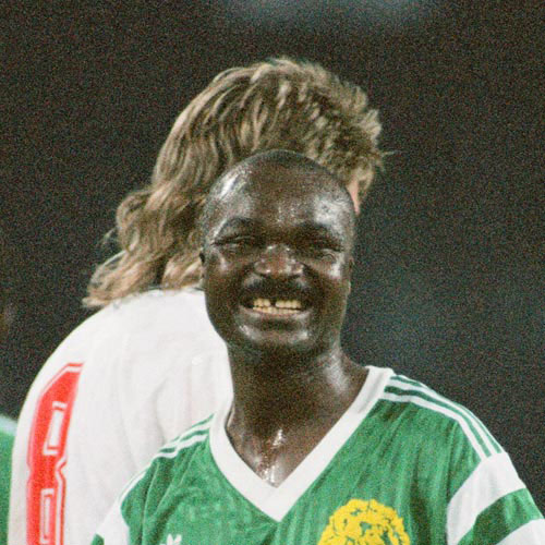 Football Test answer: ROGER MILLA
