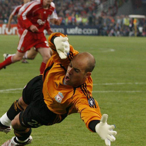 Football Test answer: PEPE REINA