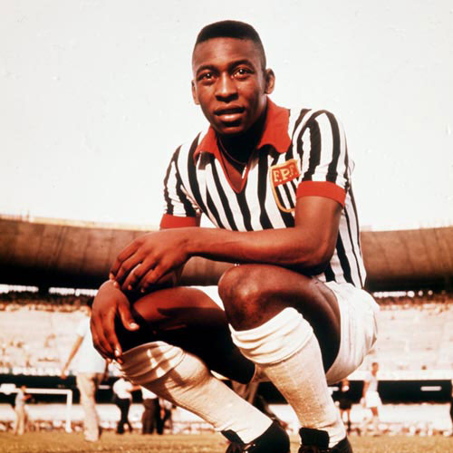 Football Test answer: PELE