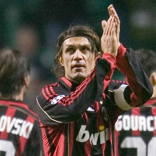 Football Test answer: PAOLO MALDINI