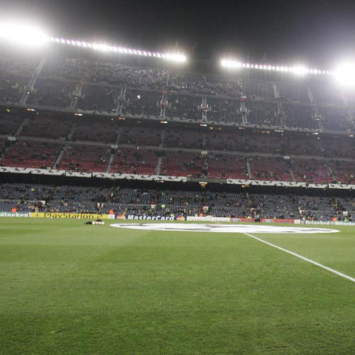 Football Test answer: NOU CAMP STADIUM