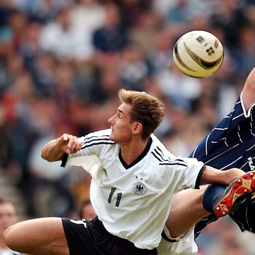Football Test answer: MIROSLAV KLOSE