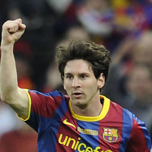 Football Test answer: MESSI
