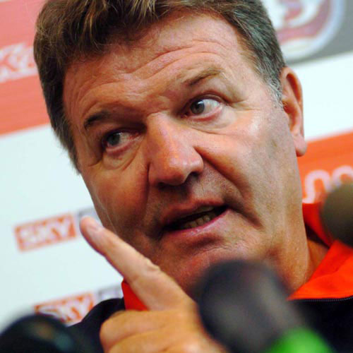 Football Test answer: JOHN TOSHACK