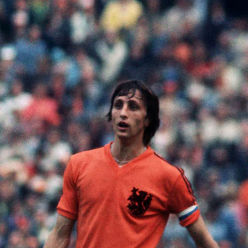 Football Test answer: JOHAN CRUYFF