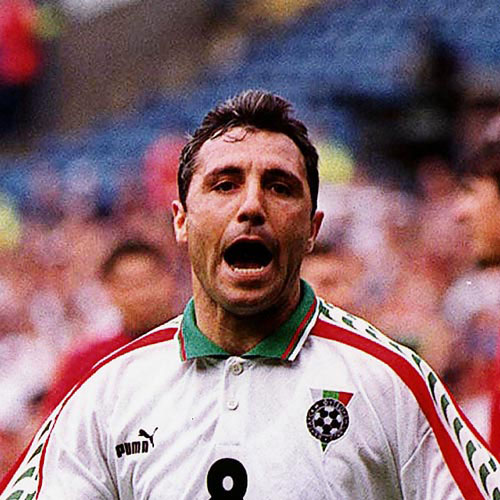 Football Test answer: STOICHKOV