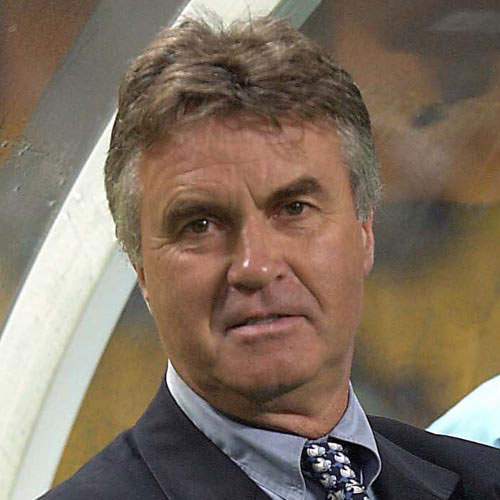 Football Test answer: GUUS HIDDINK